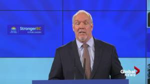 Premier Horgan announces new youth employment funding in B.C. (04:12)