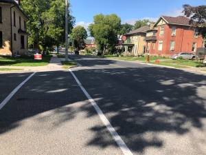 New bike lanes planned for Charlotte St. in Peterborough