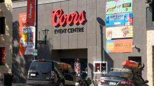 Several musicians cancel performances after band Bombargo announced to play Coors Event Centre (01:31)