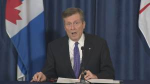 Coronavirus: Mayor Tory urges retailers to avoid in-store Black Friday sales (01:15)