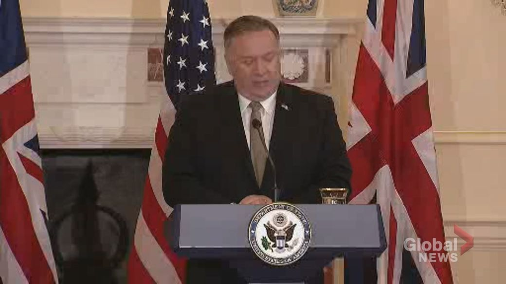 "Click to play video 'U.K. and U.S. call on Russia to ""respect the sovereignty of Belarus""'"