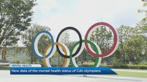 Elite athletes more likely to experience mental health challenges: study (05:09)