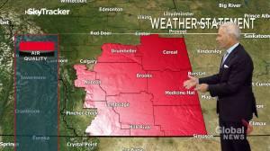 Edmonton early morning weather forecast: Thursday, October 7, 2021 (02:20)