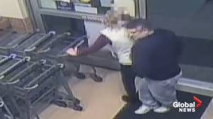 Police release security footage of alleged syringe assault in Churchton