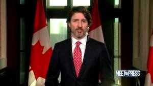 'It's fairly clear' U.S. has made decision on Keystone XL Pipeline, Trudeau says he's disappointed but 'moving forward' (01:50)