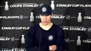 RAW: Winnipeg Jets Logan Stanley Interview – June 7 (01:36)