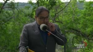 Alberta grant will allow for unmarked grave search at the former Edmonton Indian Residential School (01:03)
