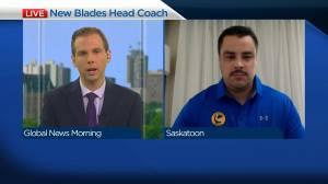 Saskatoon Blades new head coach on returning to WHL (04:07)