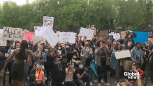 Edmontonians launch Living with Black Skin initiative (01:41)
