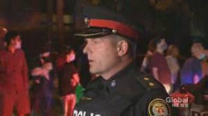 Man shot dead in underground garage at condo building in Toronto's north end (01:27)