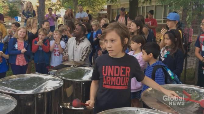 'It brings such joy': parents disappointed beloved steel pan program slashed at Toronto school