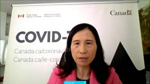 Canadian health officials say COVID-19 restrictions could be lifted when 75% are fully vaccinated (02:29)