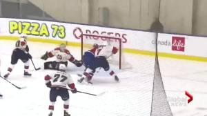 Rude awakening for Hurricanes in Game 1 of WHL season (01:28)