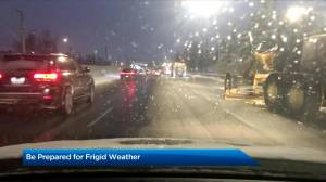 Cold winter weather comes to Calgary (02:59)