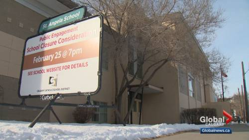 Parents fight to keep northeast Calgary school open | Watch News Videos Online