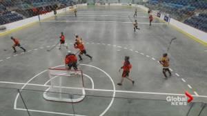 Saskatchewan gets ball hockey league rolling (01:49)