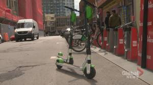 Some Montrealers already fed up with Lime Scooters