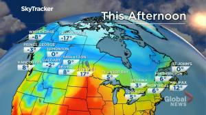 Snow possible: March 29 Manitoba weather outlook (01:51)