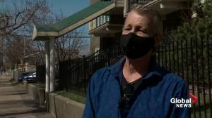 Newborn girl found inside Edmonton apartment building leaves many unanswered questions (01:49)