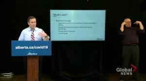 Kenney explains possible use of cellphone data to track COVID-19