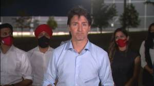 'I've never seen this intensity of anger,' Trudeau says after rally cancelled due to safety (09:06)
