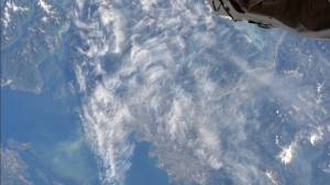 ISS captures wildfire haze from west coast fires as seen from orbit (02:15)