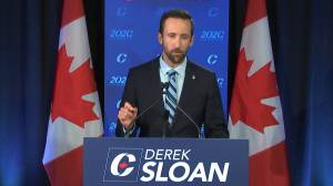 Derek Sloan ejected from Conservative caucus over 'pattern of destructive behaviour' (01:59)
