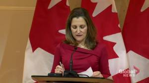 Freeland says Canadian premiers played instrumental role in new NAFTA negotiations