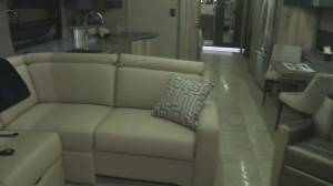 Edmonton RV Show sneak peek 1: A look at one of the luxurious motorhomes