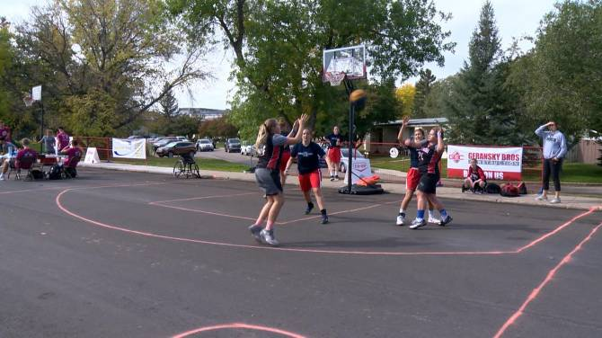 Hoops for Hope event draining 3s for cystic fibrosis