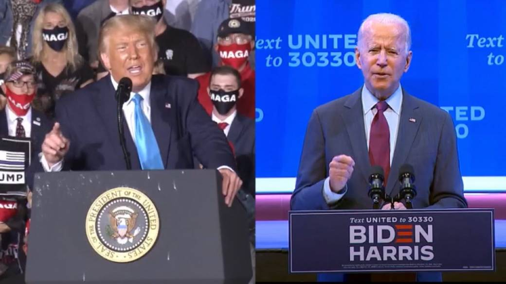 Click to play video 'Trump and Biden to face off in first presidential debate'