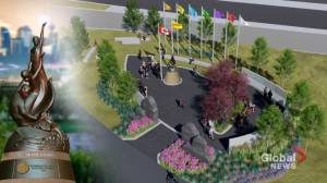 Park and monument to honour Calgary's Vietnamese boat people (01:55)