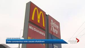 Hamilton McDonald's employee charged with faking COVID-19 diagnosis