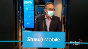 Brad Shaw announces the launch of Shaw Mobile