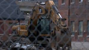 Community members angry over Provincial demolition of Toronto heritage buildings (02:53)