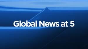 Global News at 5 Edmonton: August 19 (10:50)