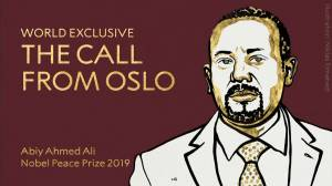 Ethiopian PM thanks committee for Nobel Peace Prize in phone call (01:30)
