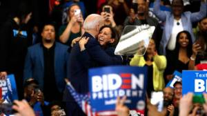 Joe Biden names Kamala Harris as VP nominee