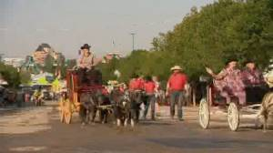 Calgary Stampede serves as test for major events during pandemic (02:21)