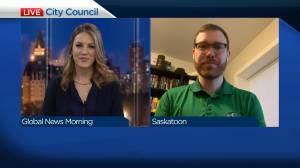 Latest from Saskatoon city council chambers (04:03)