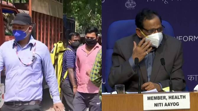 Click to play video: India's COVID-19 crisis: Health official urges wearing of masks at all times, even at home
