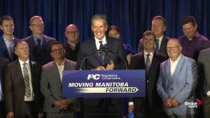 Manitoba Election: Incumbent premier Brian Pallister's full victory speech after PCs re-elected