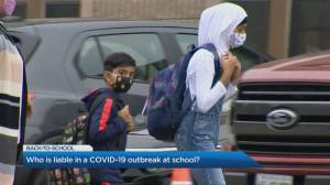 Who is liable for a COVID-19 outbreak at schools?