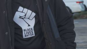 Black shirt day marked by many B.C. schools (01:53)
