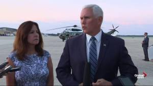 VP Mike Pence says Trump 'closely monitoring' Texas shooting