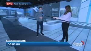 Canada's biggest walkthrough immersive attraction opens (04:08)