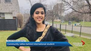 International student in GTA in congestive heart failure finds support from community