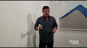 'Very tasty': Artist takes bite of US$120,000 banana at Art Basel