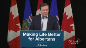 Premier Jason Kenney announces Alberta Human Trafficking Task Force