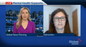 Increase in mental health calls to distress line during pandemic (03:52)